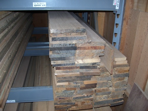 Pile of White Oak