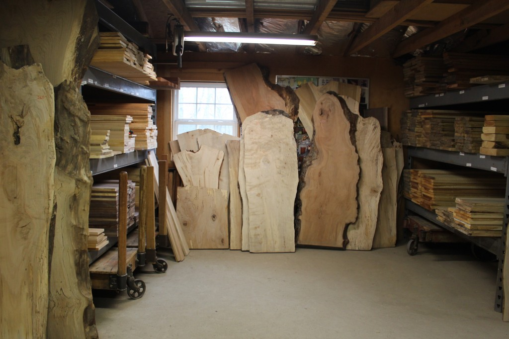 Rough Sawn Edge ~ Inventory spacht sawmill
